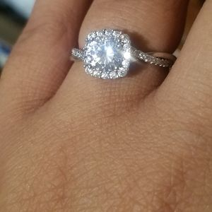 Jewelry - 925 Sterling Silver Engagement Ring sz 9